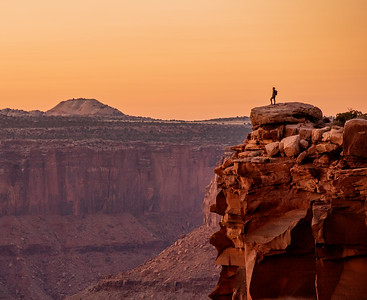 Adventure in Canyonlands at Sunset