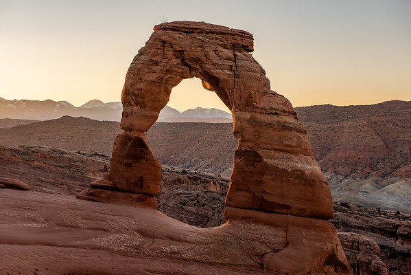 Delicate Arch in Morning Light