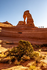 Adventure at Delicate Arch