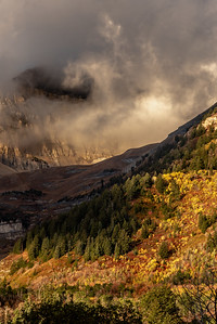 Fall Morning on Mt. Timpanogos