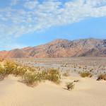 Death Valley National Park mountain desert landscape .