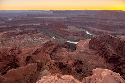 Canyonlands from Deadhorse Point