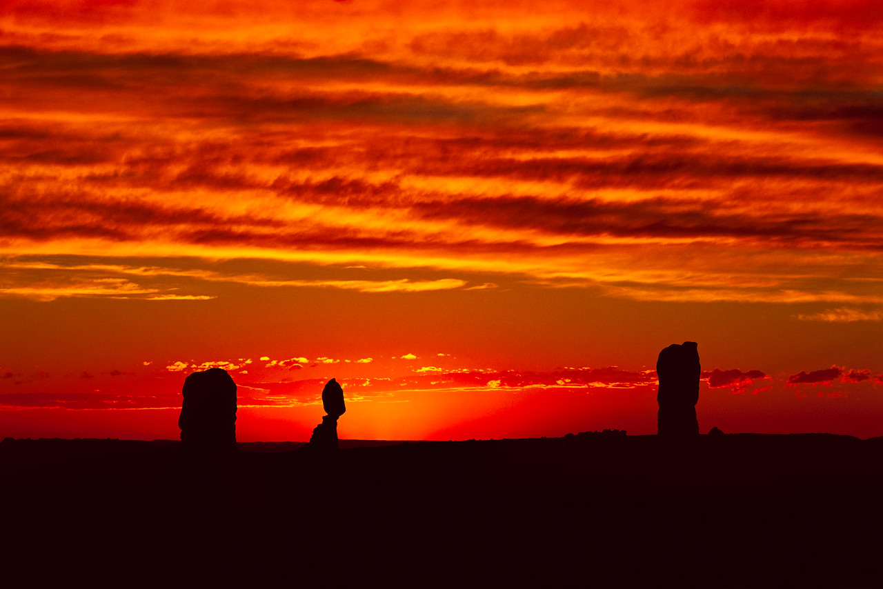 """Balanced Rock Sunset"""