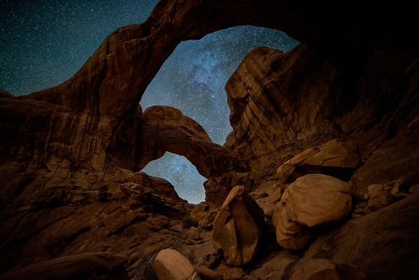 Double Arch at Night #2
