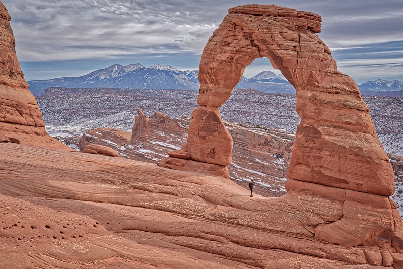 Delicate Arch Winter