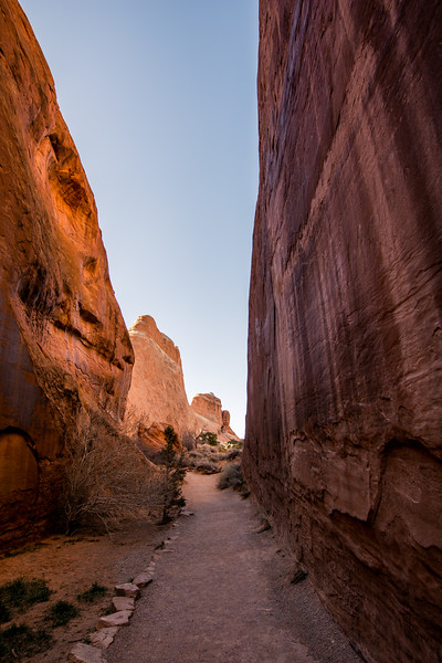 On the Trail, Arches National Park
