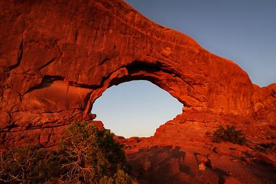 North Windows Arch Sunset