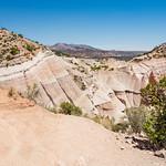 Beautiful mountainscenery. Kasha-Katuwe Tent Rocks National Monument, Close to  Santa Fe, New Mexico, USA