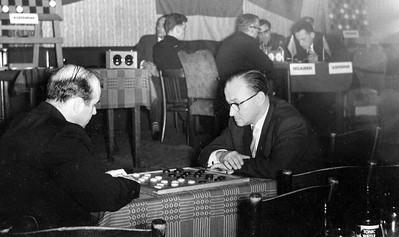 Enschede 1958 Koslov-Ivens