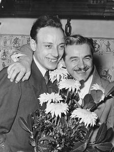 wereldkampioen Roozenburg en Dagenais 1952