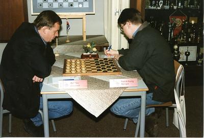 '99 NK, links Rob Clerc  Recht Fred de Koning