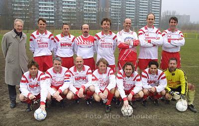 HC - TEAMFOTO 5e van SEMPER ALTIUS - RIJSWIJK 8 FEBRUARI 2003 - FOTO: NICO SCHOUTEN