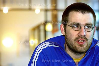 HC - DAVID RIETVELD - Kandidaat voorzitter Groenlinks - DEN HAAG 5 FEBRUARI 2003 - FOTO: NICO SCHOUTEN