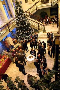 HC - LAATSTE NIEUWJAARSRECEPTIE IN RIJSWIJKSE STADHUIS - RIJSWIJK 6 JANUARI 2003 - FOTO: NCIO SCHOUTEN