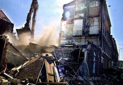 HC -SLOOP BUURPANDEN BLAUWE AANSLAG - DEN HAAG 9 JULI 2003 - FOTO: NICO SCHOUTEN