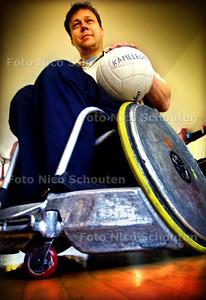 HC SPORT - JEROEN EFRAIM, ROLSTOELRUGBY - DEN HAAG 22 MAART 2003 - FOTO: NICO SCHOUTEN