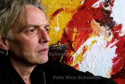 WC - HAN LE ROY, KUNSTSCHILDER - DEN HAAG 24 FEBRUARI 2004 - FOTO: NICO SCHOUTEN