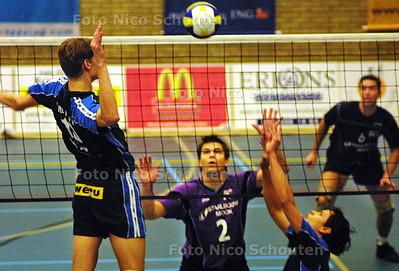 HC SPORT - INTER RIJSWIJK_VOCASA, VOLLEYBAL - RIJSWIJK 31 JANUARI 2004 - FOTO: NICO SCHOUTEN