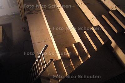 HC - VERBOUWING KERK TOT THEATER CAMUZ - De tribune - FOTO: NICO SCHOUTEN