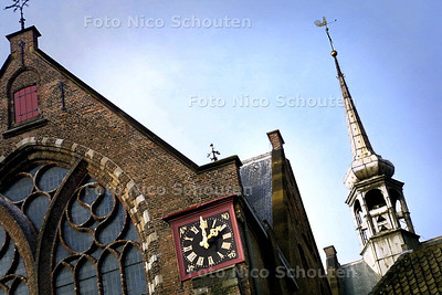 HC - KERKTOREN KLOOSTERKERK - DEN HAAG 21 JANUARI 2004 - FOTO: NICO SCHOUTEN