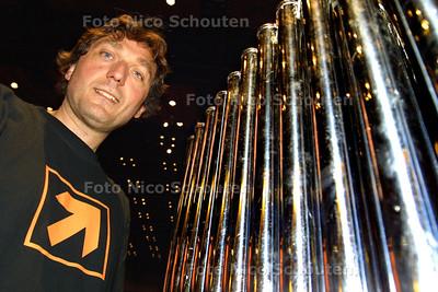 HC- Slagwerker Wim Vos artistiek coördinator Residentie Orkest - DEN HAAG 11 JUNI 2004 - FOTO ICO SCHOUTEN