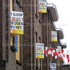 HC - SLOOPKUNST FISCHERSTRAAT, TILLMANN MEYER-FAJE - DEN HAAG 10 JUNI 2004 - FOTO NICO SCHOUTEN