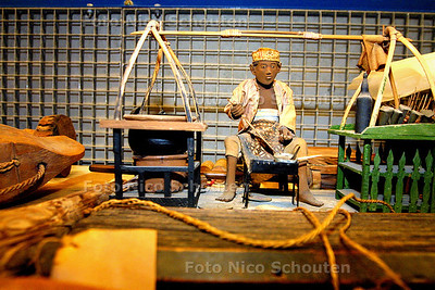 MUSEON DEPOT - Indonesisch Werkmannetje   DEN HAAG 11 MAART 2003 - FOTO: NICO SCHOUTEN