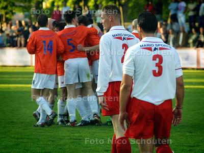 HC CUP - 1/2 FINALE VCS-JAC - JAC heeft 0-1 gescoort - DEN HAAG 18 MEI 2004 - FOTO: NICO SCHOUTEN