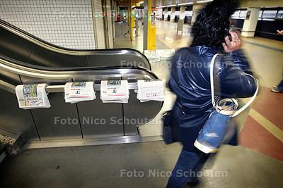 HC - STAKING HTM, TRAMSTATION CENTRAAL - DEN HAAG 20 SEPTEMBER 2004 - FOTO NICO SCHOUTEN