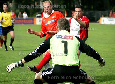 HC - JAC vs RODA BOYS - Jac mist hier een goede kans - WASSENAAR 11 SEPTEMBER 2004 - FOTO NICO SCHOUTEN