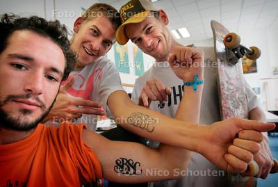 HC - SBSC TATOO'S - DEN HAAG 9 AUGUSTUS 2005 - FOTO NICO SCHOUTEN