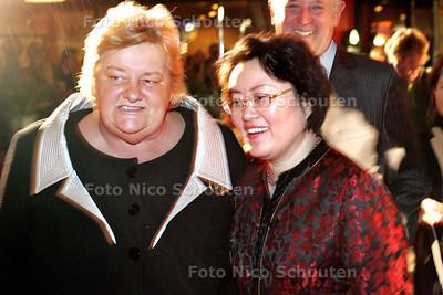 HC - PRESENTATIE NIEUWE MENUKAART CHINEES RESTAURANT ALEXANDER, bij verhaal Gijsbert Spierenburg - LEIDEN 1 FEBRUARI 2005 - FOTO NICO SCHOUTEN