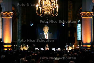 HC - AFSLUITING HOFSTADLEZING - minister Bot spreekt - DEN HAAG 14 FEBRUARI 2005 - FOTO NICO SCHOUTEN