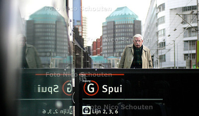 "HC - HR DE KREEK, ""STATION SPUI"" - DEN HAAG 21 JANUARI 2005 - FOTO NICO SCHOUTEN"