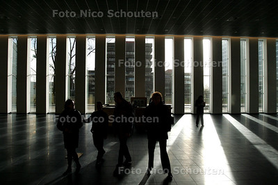 OPENDAG PRINSENHOF, entree - DEN HAAG 22 JANUARI 2005 - FOTO NICO SCHOUTEN