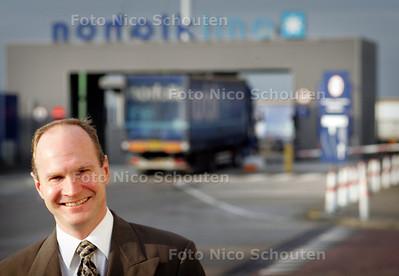 HC - HR WOLDBYE, DIRECTEUR NORFOLK LINE - SCHEVENINGEN 10 JANUARI 2005 - FOTO NICO SCHOUTEN