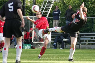 HC - HC CUP, HBS tegen HMSH - DEN HAAG 17 MEI 2005 - FOTO NICO SCHOUTEN