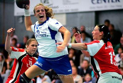 AD/HC - DAMESHANDBAL, Europacup HELLAS tegen TECTON WAT-ATZGERSDORF - DEN HAAG 1 OKTOBER 2005 - FOTO NICO SCHOUTEN