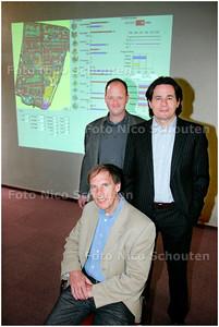 AD/HC - BABY TYCOON AWARD  Robin Seijdel en collega's, van Strategis - VOORBURG 18 APRIL 2006 - FOTO NICO SCHOUTEN