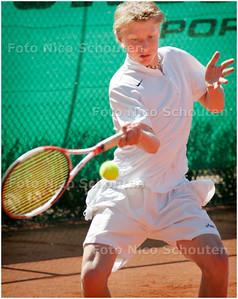 AD/HC - hoofdklassewedstrijd Leimonias 2 - Alta 1 - ROEL OOSTEN IN ACTIE - DEN HAAG 17 APRIL 2006 - FOTO NICO SCHOUTEN