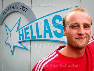 AD/HC - Nieuwe Hellas-trainer Bjorn Budding - DEN HAAG 14 AUGUSTUS 2006 - FOTO NICO SCHOUTEN