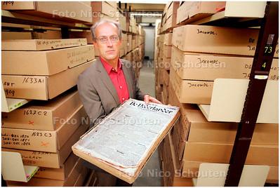 AD/HC - HANS JANSEN, KRANTENARCHIEF KONINKLIJKE BIBLIOTHEEK - DEN HAAG 16 AUGUSTUS 2006 - FOTO NICO SCHOUTEN