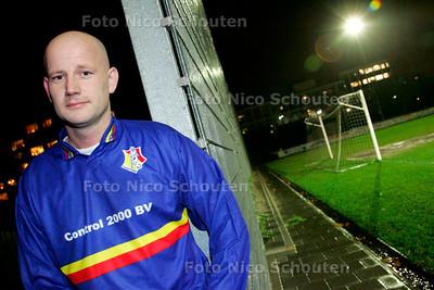 AD/HC - voetballer Patrick Vink, aanvoerder van Haagse Hout - DEN HAAG 12 DECEMBER 2006 - FOTO NICO SCHOUTEN