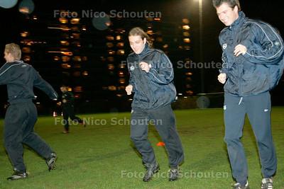 AD/HC - Semper Altius-speler Patrick Stapert (midden) - RIJSWIJK 12 DECEMBER 2006 - FOTO NICO SCHOUTEN