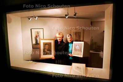 AD/RD - groep mensen bezoekt expo Panorama Mesdag, bij verhaal Richard Alblas - DEN HAAG 3 FEBRUARI 2006 - FOTO NICO SCHOUTEN