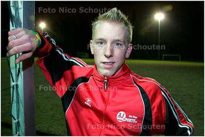 AD/HC - LEX TIMMERS, VREDENBURCH - RIJSWIJK 7 FEBRUARI 2006 - FOTO NICO SCHOUTEN