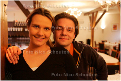AD/HC - MARC SMEETS MET ZIJN VROUW - RIJSWIJK 2 FEBRUARI 2006 - FOTO NICO SCHOUTEN
