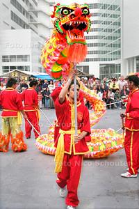 AD/HC - Chinese Cultuurdagen, drakendans, Spuiplein - DEN HAAG 24 JUNI 2006 - FOTO NICO SCHOUTEN