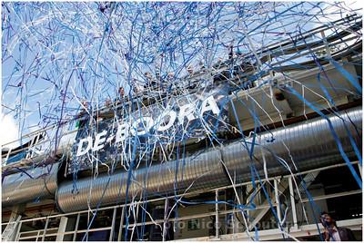 AD/HC - INZEGENING TUNNELBOOR HUBERTUSTUNNEL - De tunnelboor krijgt de naam De-Boora - DEN HAAG 27 JUNI 2006 - FOTO NICO SCHOUTEN