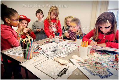 AD/HC - Kinderwerk Oud Rijswijk bestaat 1 jaar - vrij spelen - RIJSWIJK 3 MAART 2006 - FOTO NICO SCHOUTEN